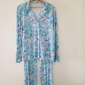 Lilly Pulitzer pajama set very soft